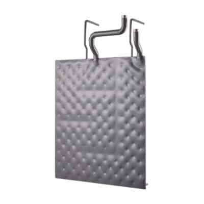 Beschichteter Plattenwärmetauscher mit Halter Quadrat