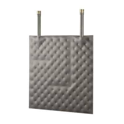 Intercambiador térmico de placas revestidas cuadrato
