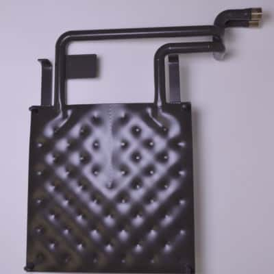 Intercambiador térmico de placas revestidas